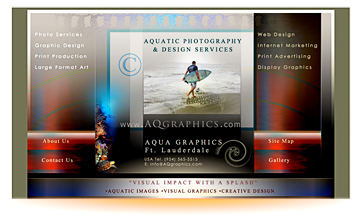 Aqua Graphics Aquatic Photography & Design • Underwater Photo Specialists.
