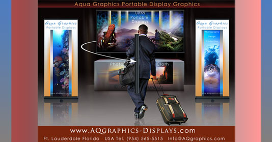 •Light Weight and Ultra Portable Trade Show Displays • Trade Show Booth Graphics.