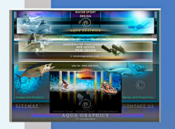 Experienced Underwater Photo Services & Graphic Design Specialists