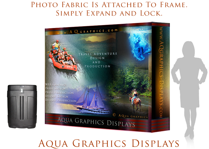 Portable Travel Show Display Graphics