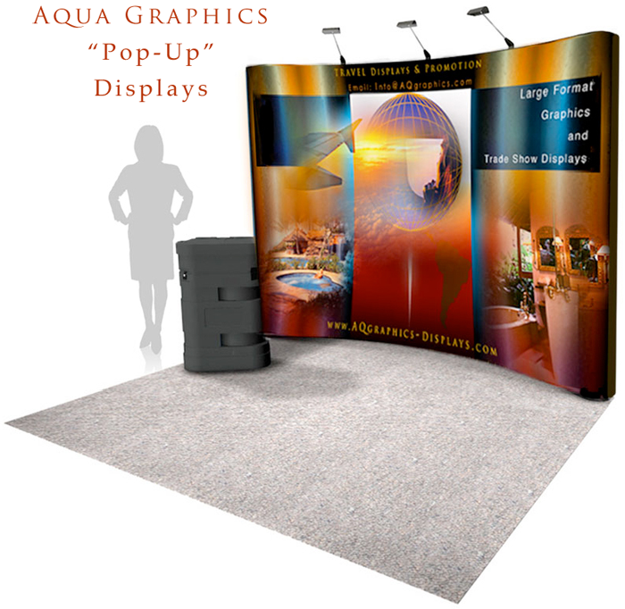 Pop Up Trade Show Displays Designed and Produced