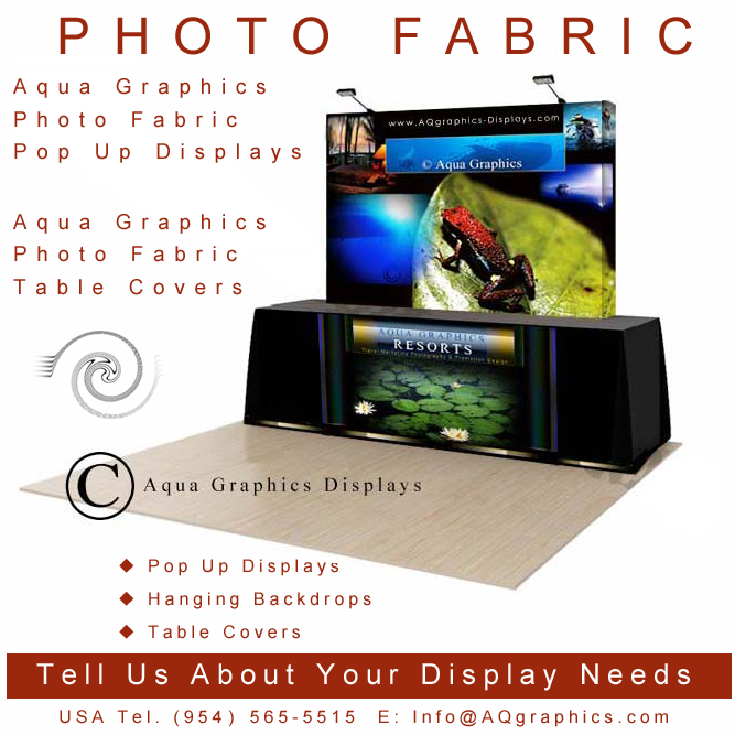 Table Top Trade Show Displays Design and Produced