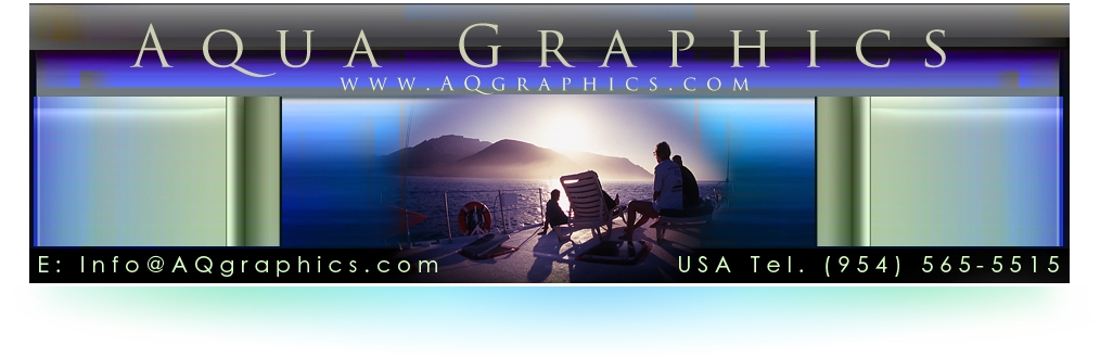 Aqua Graphics Designs