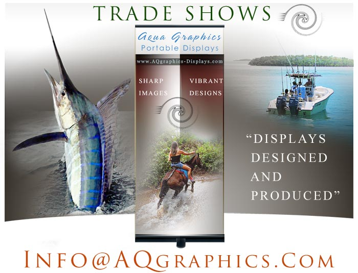 Sport Show Display Graphics