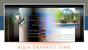 Leisure Travel ..Family Travel Adventures Design For Websites and Print