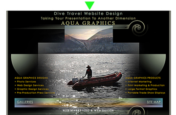 WEB Design Services for Marina Resorts and Liveaboard Cruises
