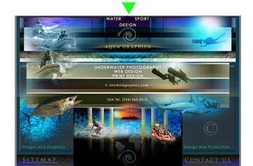 Web Design For Yachting Industry.. Water Sport Graphic Design