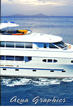 Professional Yacht Photography and Creative Photo - Graphics Services ..Aqua Graphics Ft. Lauderdale Florida