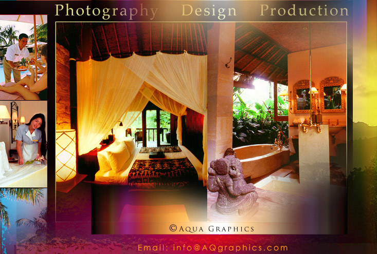 Travel Marketing Design for Boutique Resort