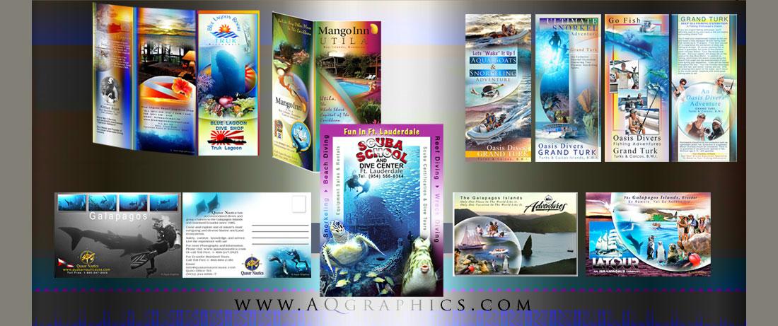 water sport web design print advertising