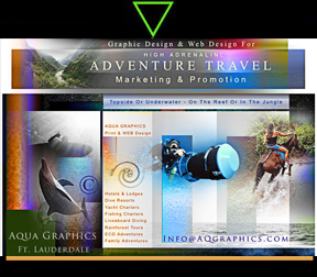 Extreme Adventure Travel Marketing Design Specialty