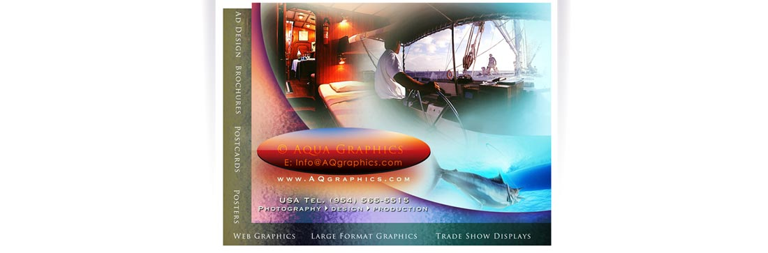 Yacht Photographer and Brochure Design Services.. Yacht Charter Websites and Print Marketing.
